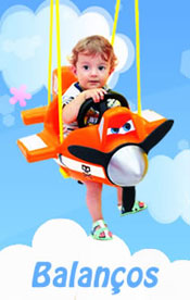 Balanço Dusty Aviões Disney - Xalingo