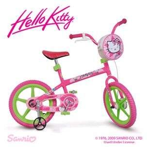 5c189dd2a Bicicleta Aro 14 Hello Kitty - Brinquedos Bandeirante - Fantasy Play ...