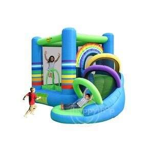Castelo arco iris com escorregador 3 20 x 2 80 fantasy for Piscina inflavel arco iris intex playground com escorregador
