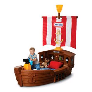 cama navio little tikes fantasy play brinquedos tudo. Black Bedroom Furniture Sets. Home Design Ideas