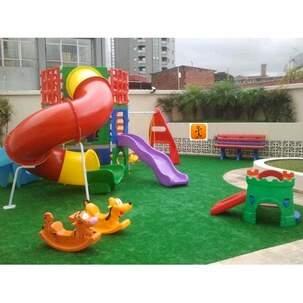 Playground Completo Condominio Xalingo Mundo Azul E Freso