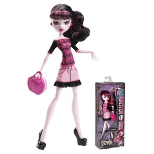 Draculaura Monster High - Scaris Coleção City Of Frights
