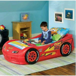 K609244 Cama Carro Lighting Mcqueen Pequena - Little Tikes