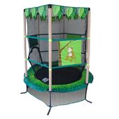Cama Elastica 1.00 -  Jungle Kiddy Com Rede de Prote��o