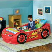 Cama Carro Lighting Mcqueen Pequena - Little Tikes